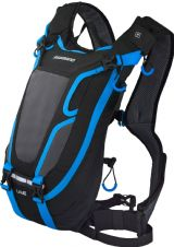 Unzen U4E, 4 litre hydration pack, w/o reservoir, black / blue